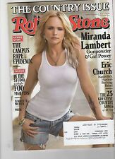 ROLLING STONE - Issue 1211 - MIRANDA LAMBERT Cover - Foo Fighters,Country, Phish