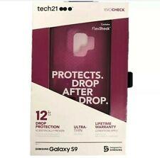Tech21 EvoCheck Case Cover Protection for Samsung Galaxy S9 Fuchsia Purple