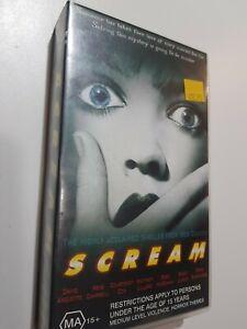 SCREAM VHS TAPE MA 15 +