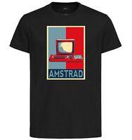 T-Shirt Black - Propaganda Console Vintage - Amstrad