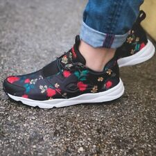 7f742d2f09fc REEBOK FURYLITE SR WOMEN S RUNNING SHOES BLACK FLORAL ROSES SIZE 10 US  AUTHENTIC