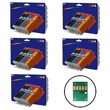 Any 25 Inks for Canon iP7250 iP8750 iX6850 MG5450 MG5550 MG5650 non-OEM 550/1