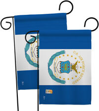 Retired Air Force-Impressions Decorative 2 pcs Garden Flags Pack - GP140355-BOAE