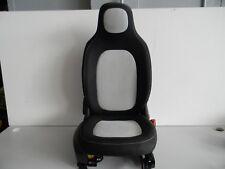 Beifahrersitz Sitz rechts mit Airbag Smart W 453 ForFour schwarz-weiss Nr:91780