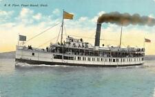 Washington,     S.S. FLYER-FERRY BOAT-PUGET SOUND      c1910's  Postcard