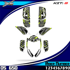 bombardier ds 650 ds650 can-am decals graphics stickers full kit new atv quad