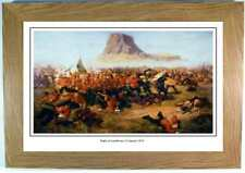Battle of Isandlwana, framed print picture, zulu war