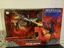 MASTERS OF THE UNIVERSE 200X SAMURAI BATTLE RAPTOR MISB SEALED NEW