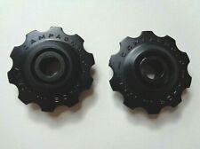 NOS Vintage 1980s Campagnolo Super Record black derailleur jockey wheels upgrade