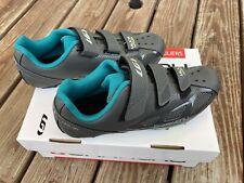 Louis Garneau Cycling Multi Air Flex Shoes W Sz 8 39 Asphalt Grey