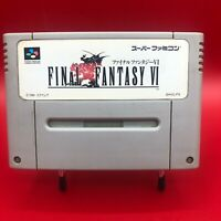 Final Fantasy VI FF6 SFC Super Famicom Japan Version Used RPG