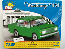 COBI Building Bricks 24542, Wartburg 353, 73 Pieces, Kit Scale 1:3 5
