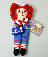 """Get Well Gift  Raggedy Ann Raggedy Andy Doll Get Well Soon Gift 10"""" Plush New"""