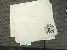 9 x Ikea Solrok Beige Placemats - NEW - 100% Cotton - 35cm x 45cm