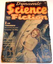 Dynamic Science Fiction – US pulp – December 1952 - Vol.1 No.1 - Rey, Dryfoos