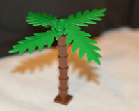 LEGO Palm Tree Complete Brown Green Pirate Island Accessories