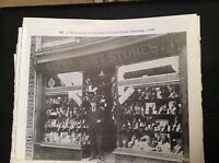 74-9 ephemera reprint picture crumlin j morse victoria terrace newbridge 1930