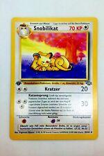 Pokemon Karte - Snobilikat 42/64 1. Edition - Jungle Set - Deutsch