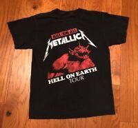Mens Metallica T Shirt Size Small