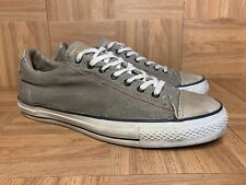 RARE🔥 Converse John Varvatos Painted Wash Brown Sneakers Sz 10 Laced OX VNTG