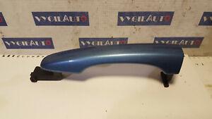 2011-2018 VOLVO V60 S60 V40 FRONT REAR LH RH DOOR HANDLE BLUE color 713-46 OEM