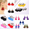 Charm Women Thread Tassel Fringe Earrings Drop Dangle Bohemian Earrings Jewelry