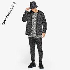 Nike Sportswear Tech Fleece Pack Para Hombre Cremallera Completa Chándal Camuflaje Negro Talla Mediana