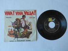 Disco 45 giri VIVA! VIVA VILLA! Maurice Jarre film colonna sonora