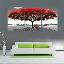 Large Red Tree Canvas Modern Home Wall Decor Art Painting Picture Print No Frame