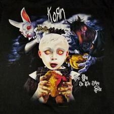 Vintage Korn See You On The Other Side 2006 World Tour T-shirt Black M Medium