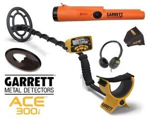 Garrett Ace 300i Metalldetektor+Propointer AT
