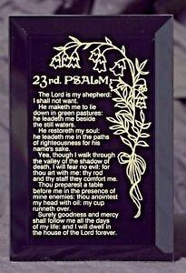 23rd Psalm Inspirational Keepsake Plaque