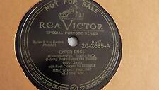 Beryl Davis - 78rpm single 10-inch – Victor #20-2685 DJ COPY Experience