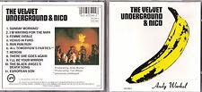 CD 11T THE VELVET UNDERGROUND & NICO - ANDY WARHOL DE 1986 WEST GERMANY VERVE