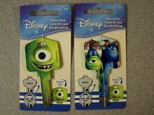 Disney Mike & Sully Kwikset Kw1/Kw10 House Key Blank