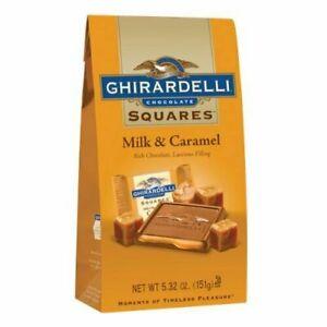 Ghirardelli Milk Chocolate Caramel Filled Squares Bag