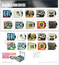 GREAT BRITAIN - 2010 CLASSIC ALBUM COVERS PRESENTATION PACK + FDC