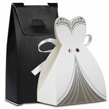 100 Hochzeit Gastgeschenk Kartonage Braut Bräutigam Süßigkeitenbox Schachtel