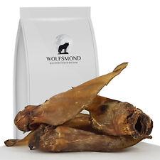 Rinderohren XXL 10 - 100 Stk mit Muschel riesen Rinderohren Kausnack Hundefutter