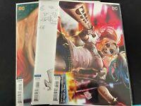 HARLEY QUINN VARIANT LOT #59, 60 & 63 (CHEW, CHO & CHO) DC COMICS 2019