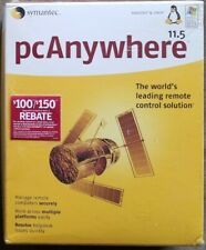 Sealed Symatic pcAnywhere 11.5 Manage Remote Computers Securely *Remote Access