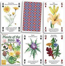 Piante DELLA BIBBIA Set di 52 carte da gioco + Buffoni (HPC)