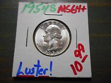 1954-S Washington Quarter - Nice Lustrous Coin !
