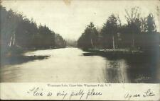 Wappingers Falls NY Upper Inlet 1906 Real Photo Postcard