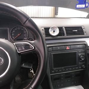 "Audi A4/S4/RS4 B6 2""/52mm Gauge Pod Holder Support - Center Air Vent"