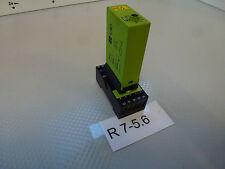 Tele Relais timer 5-30sec con base Tele TVS11 / Presa multipla TVS11 10A/380V 1