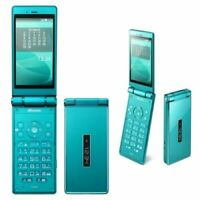 SHARP AQUOS KEITAI SH-06G DOCOMO Android Flip Phone Unlocked Green New