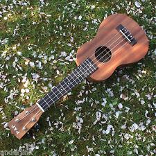 """21"""" Uke Ukulele Sapele Rosewood Fretboard Stringed Instrument 4 Strings U"""