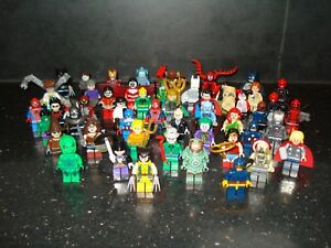 Lego Genuine - Marvel / DC Super Heroes / Mini Figure - Multiple Variations!