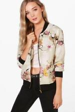 Cotton Bomber Floral Coats & Jackets for Women